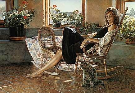 Steve hanks Quiet rapport