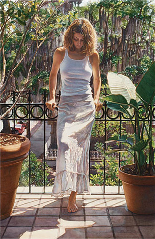 Steve Hanks In The Warm Savannah Sun