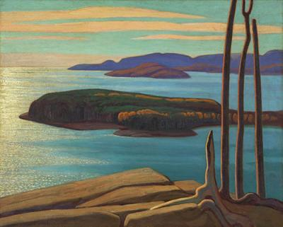 Lawren Harris Afternoon Sun North Shore Lake Superior