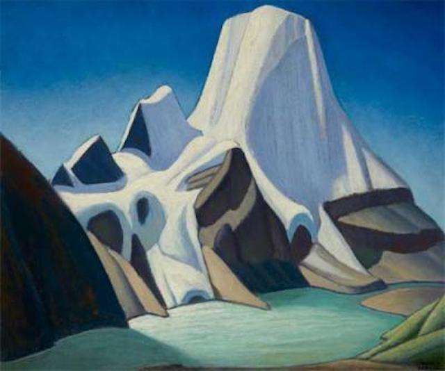 Lawren Harris Mount Robson From The  North East