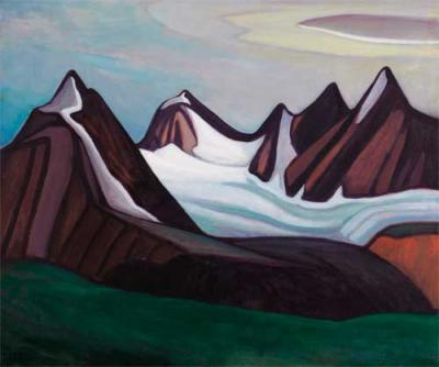 Lawren Harris Mountain And Glaciers