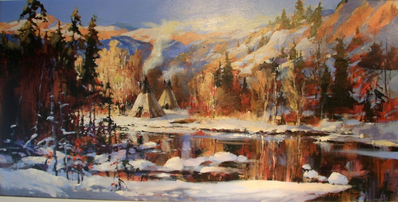 Brent Heighton Camped By The River