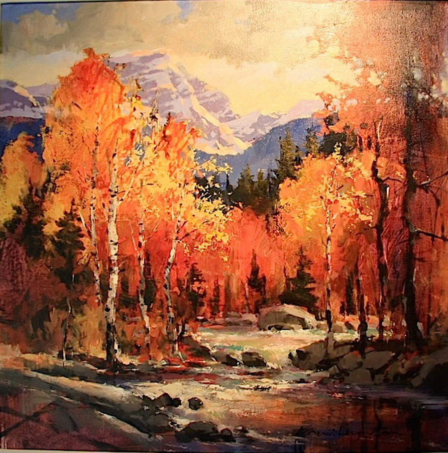 Brent Heighton From The Glacier