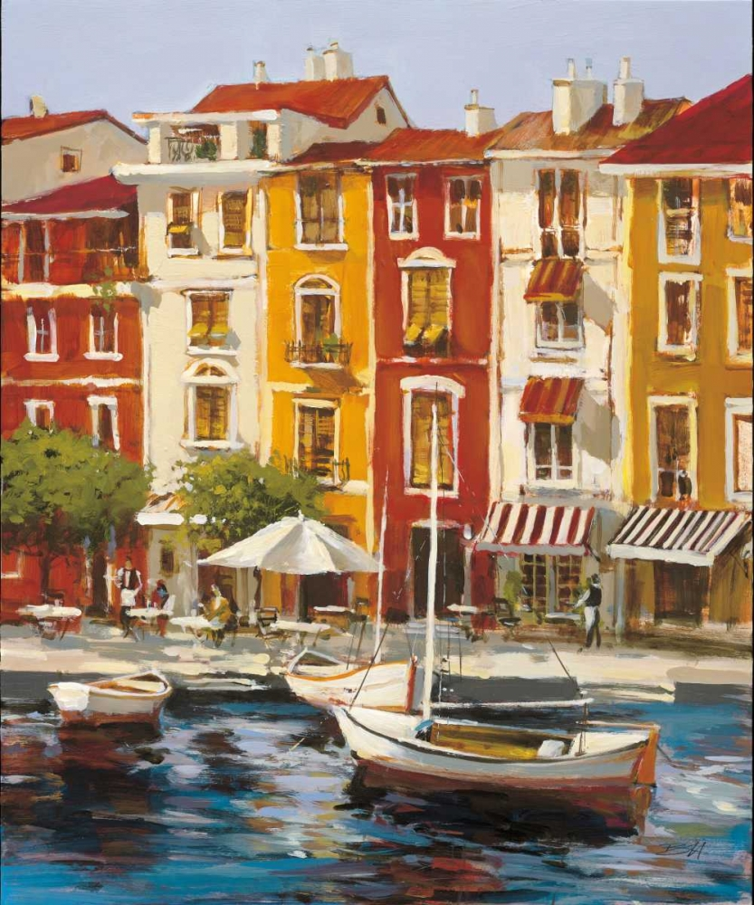 Brent Heighton Mediterranean Waterfront 1