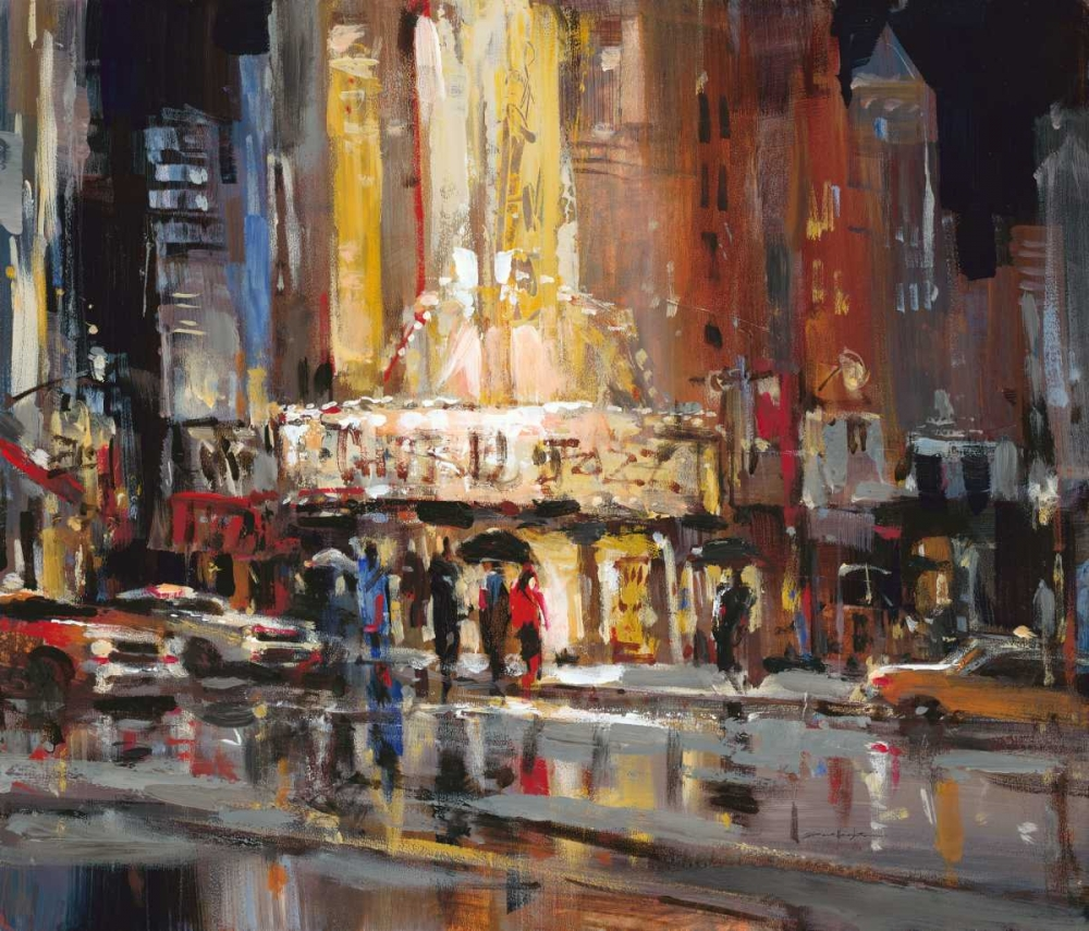 street scen e abstracts brent heighton