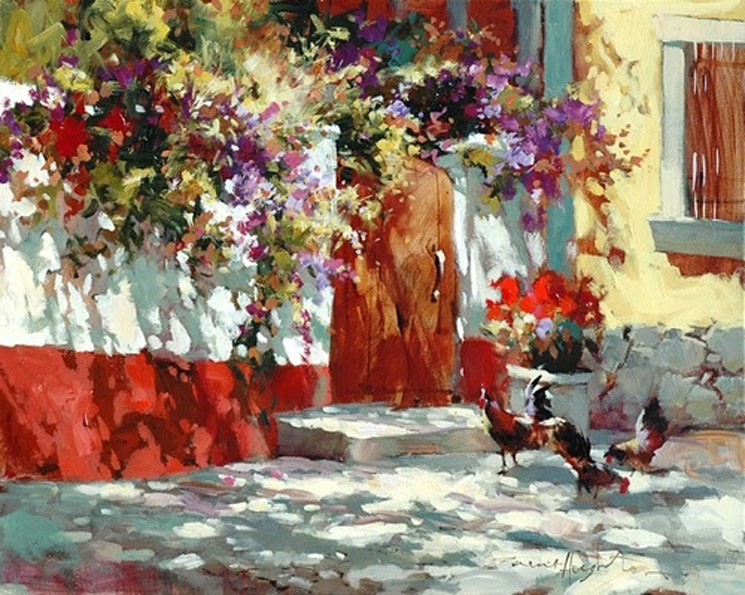 Brent Heighton The Chickens that did cross the road