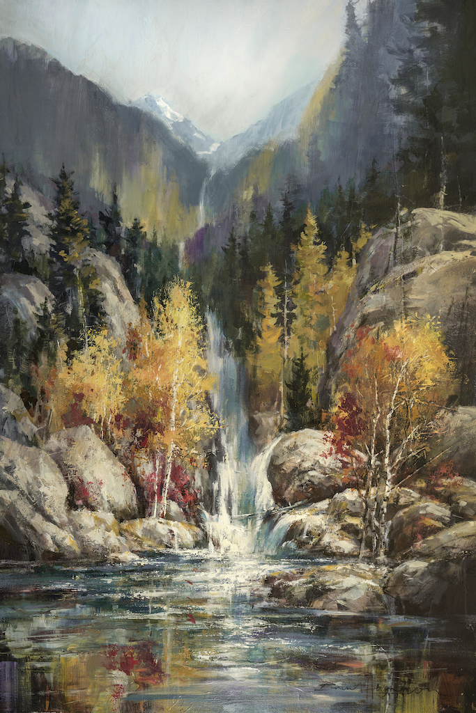 Brent Heighton Waterfall