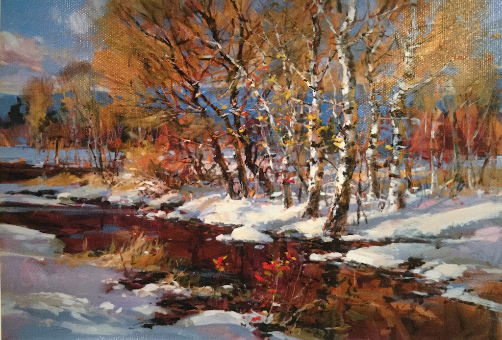 Brent Heighton Winter Retreat