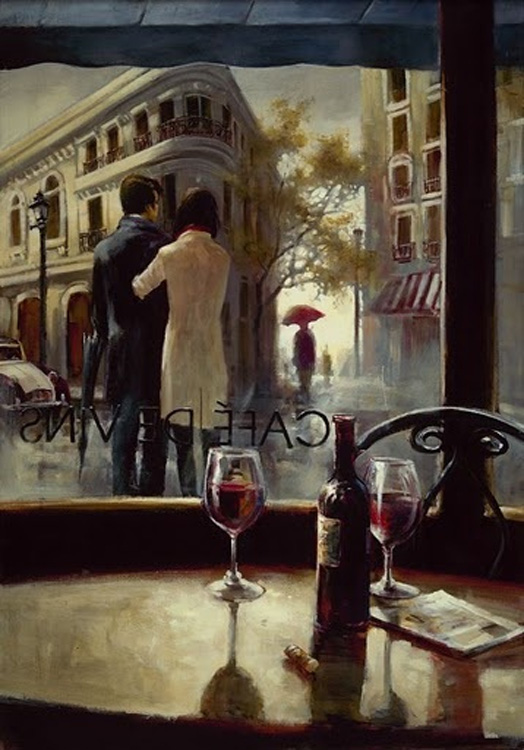 Brent Heighton Cafe De Vins