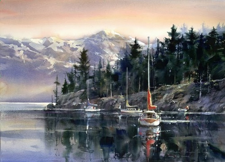 Brent Heighton The Sound Giclee Canvas