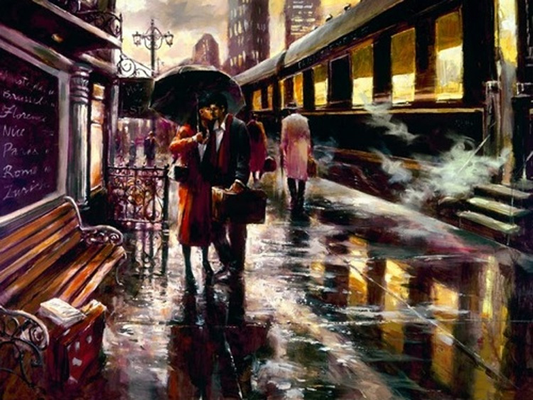 Brent Heighton Long Goodbye Giclee Canva