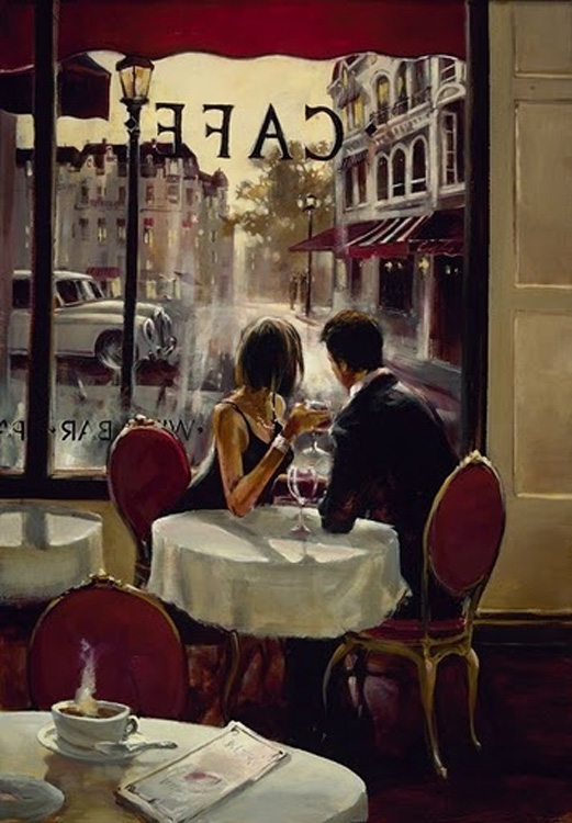 Brewnt Heighton Romantic Evening Giclee Canvas