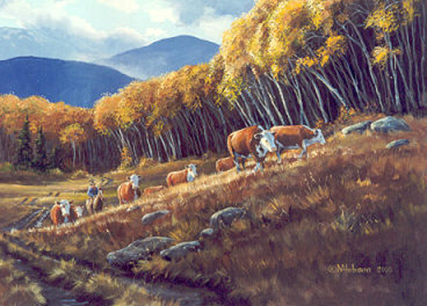 Mark Hobson Cattle Drive