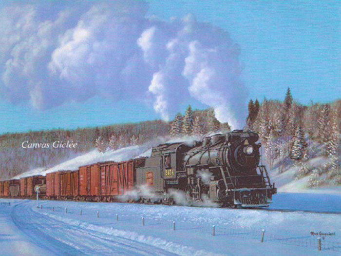 Max Jacquiard A Winter Freight