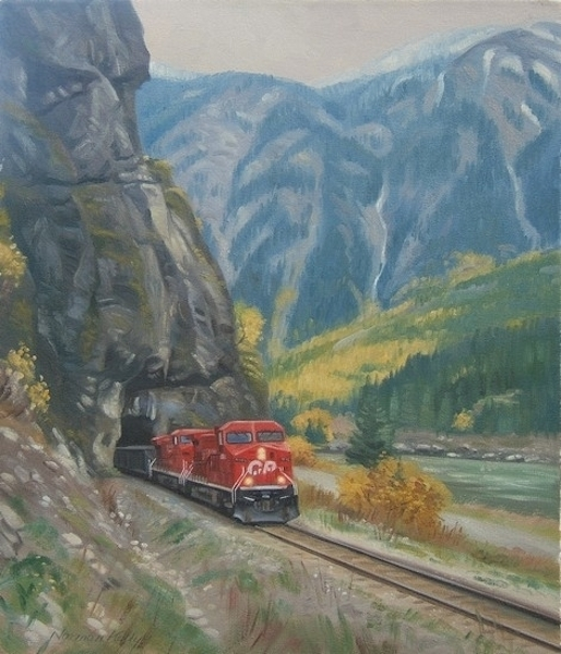 Norman Kelly Fraser Canyon Yale Tunnel