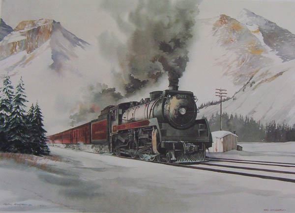 Alan Kingsland the Gian Steam Train
