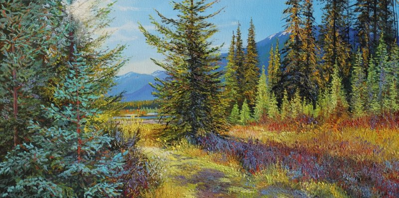 Andrew Kiss Kootenay Park Morning