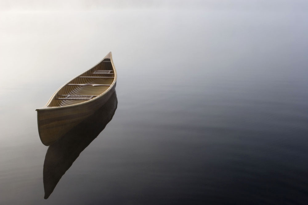 Langford canoe Peaceful Stillness