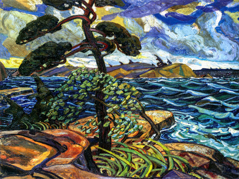 Arthur Lismer A September Gale
