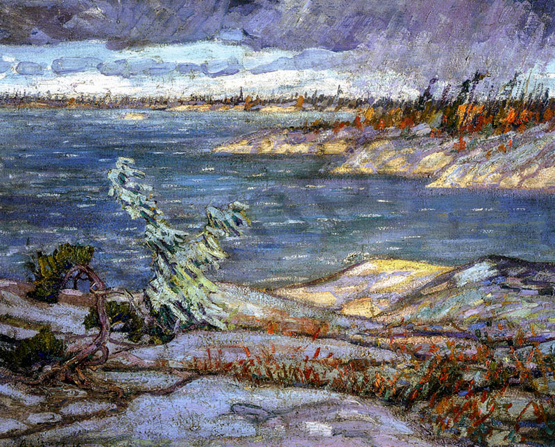 Arthur Lismer A Westerly Gale Georgian Bay