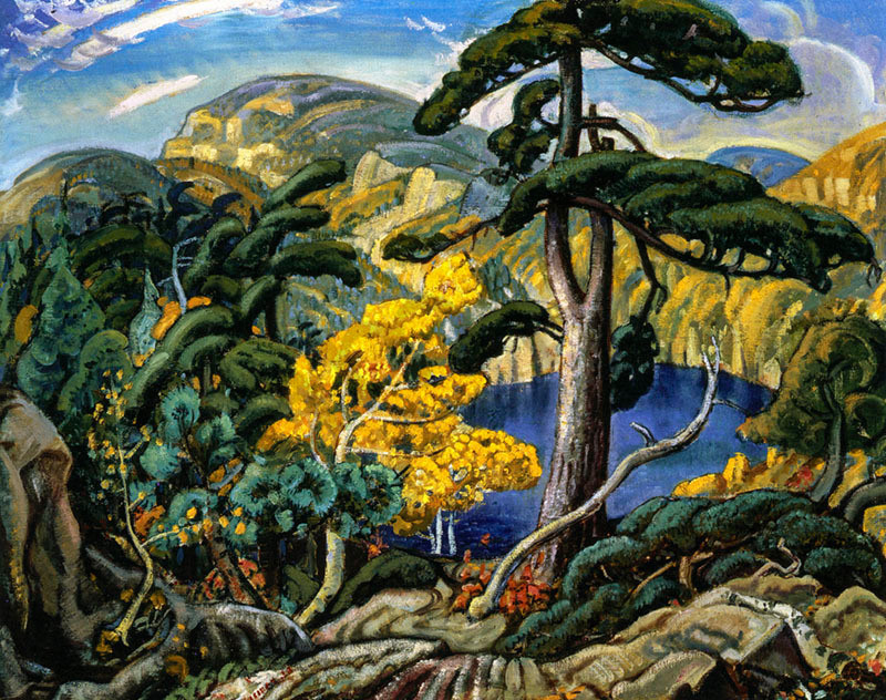 Arthur Lismer Bright Land