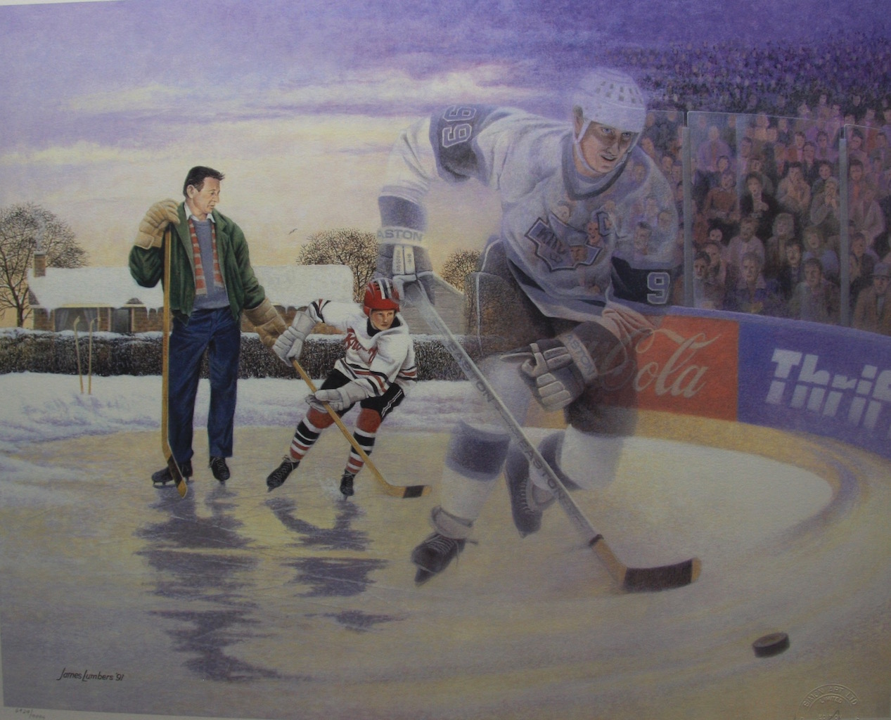 James Lumbers A Boy and His Dream Wayne Gretzky