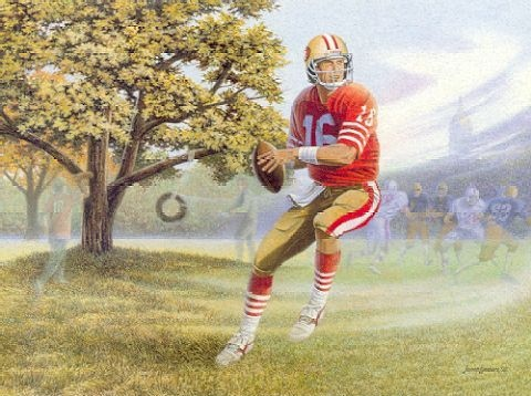 James Lumbers the Dream Begins Joe Montana