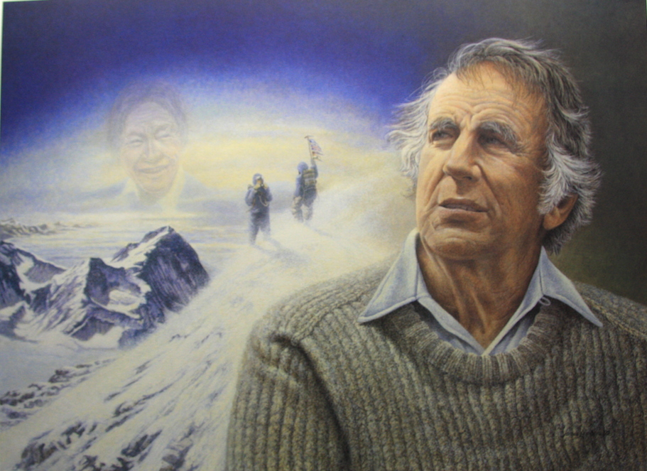 James Lumbers Everest Sir Edmund Hillary