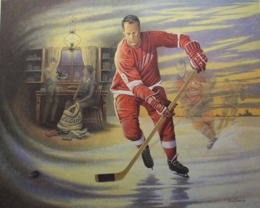 James Lumbers Mr. Hockey Gordie Howe