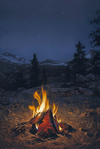 Lyman - A Mountain Campfire