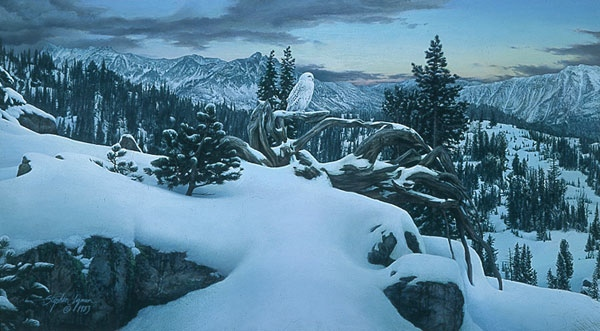 Stephen Lyman Early Winter In THe Mountains
