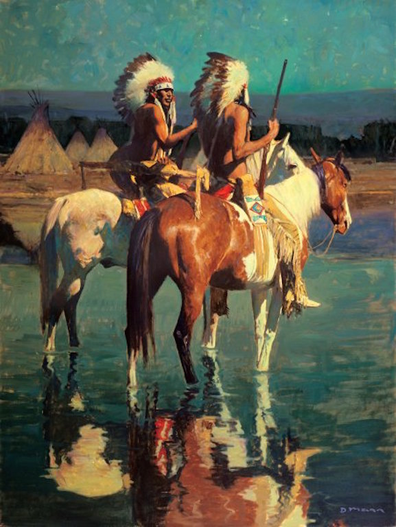 David Mann Cheyenne Camp