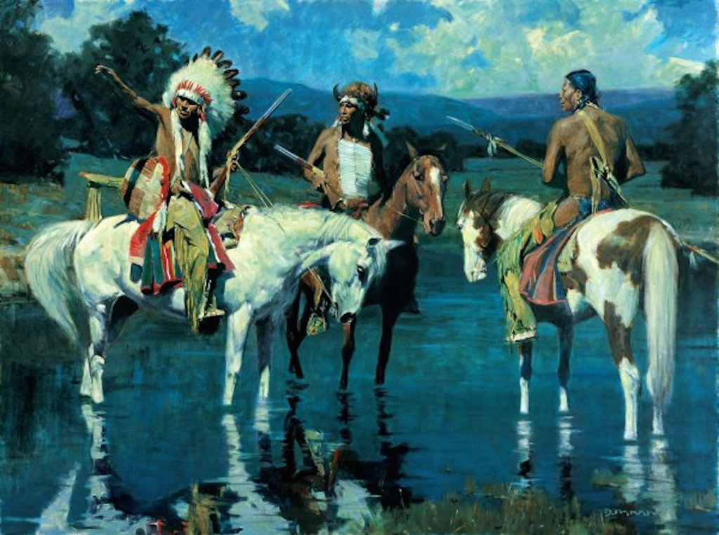 David Mann Lakota Moon