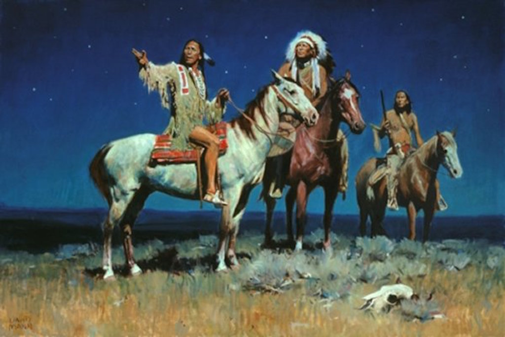 David Mann Night Signs