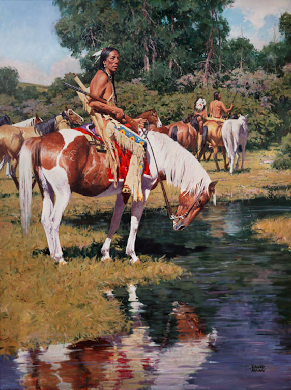 David Mann The Pony Guard