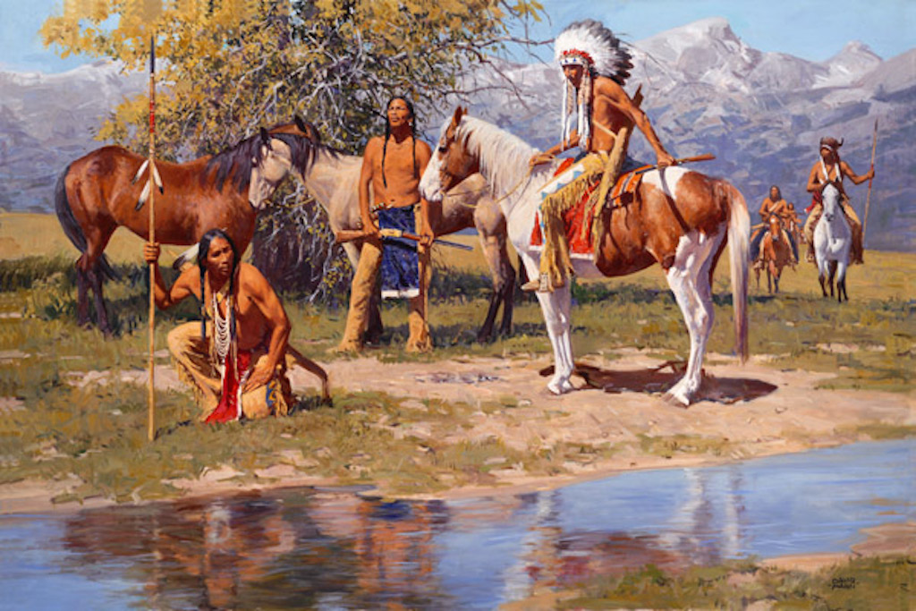David Mann The Still Warm Camp