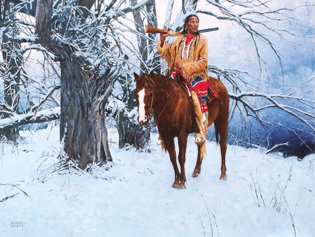 David Mann Winter Stillness