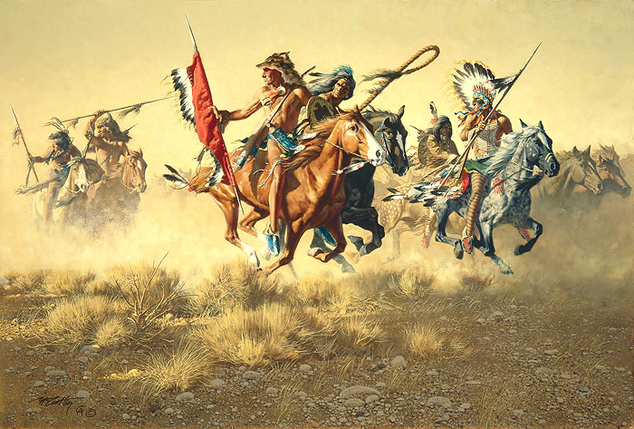 Frank McCarthy Across Hostile Ground