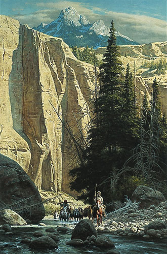 Frank McCarthy Along the West Fork