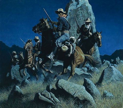 Frank McCarthy Ambush at the Ancient Rocks
