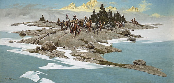 Frank McCarthy Below the Breaking Dawn
