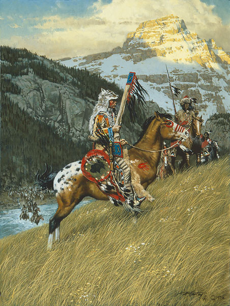 Frank McCarthy Blackfoot Raiders