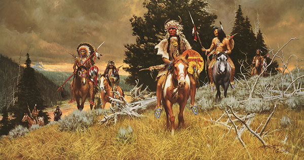 Frank McCarthy Children of the Raven