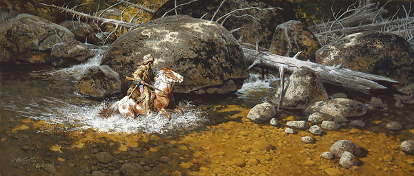 Frank McCarthy Covering His Trail