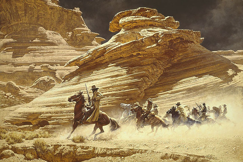 Frank McCarthy Dust Stained Posse