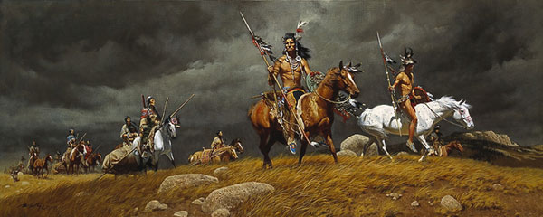 Frank McCarthy Following the Herd