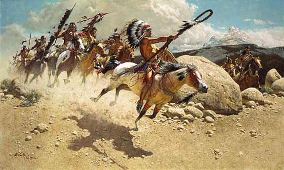 Frank McCarthy Hoka Hey : Sioux War Cry