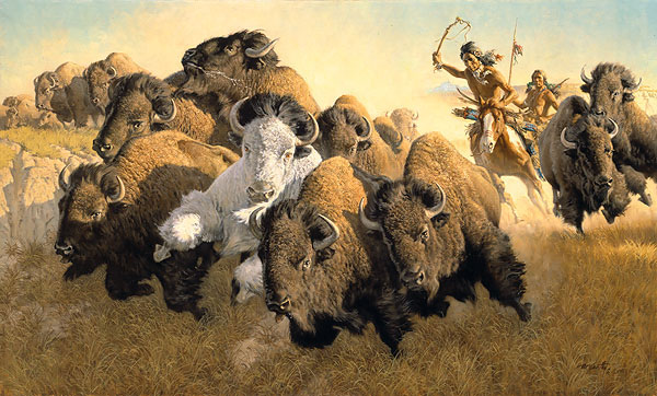 Frank McCarthy In Pursuit of the White Buffalo