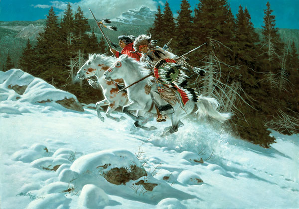 Frank McCarthy In The Land Of The Winter Hawk