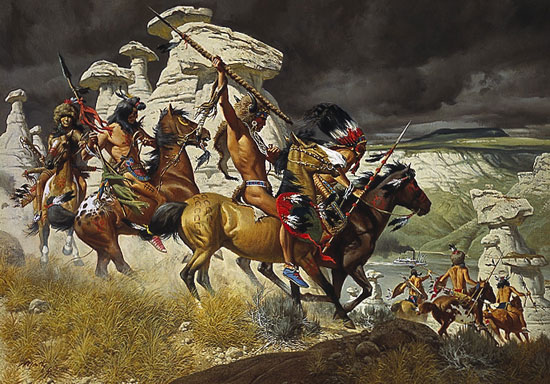 Frank McCarthy Out of the Windswept Ramparts